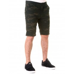 HEXAGRAM  PRINTED SHORT CAMO