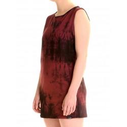 BATIK DRESS BORDO