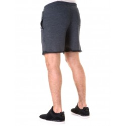 SWEAT SHORT GRIS OSCURO