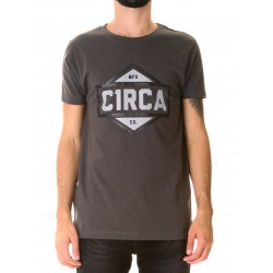 SERVICE TEE GRIS OSCURO