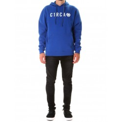 DIN PRIVATE PULLOVER HOOD AZUL