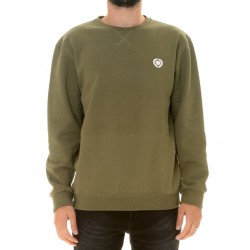 MINI ICON CREW NECK FLEECE VERDE