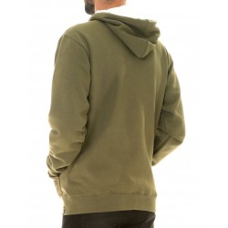 MINI ICON ZIP HOOD VERDE