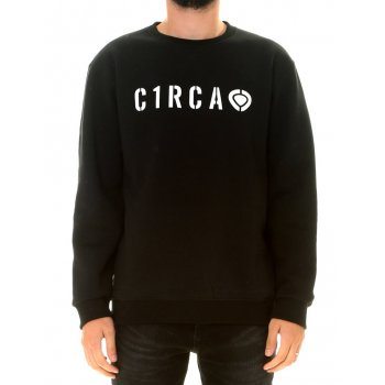 PRIVATE CREW NECK FLEECE NEGRO