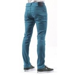 SLIM DENIM TURQUESA