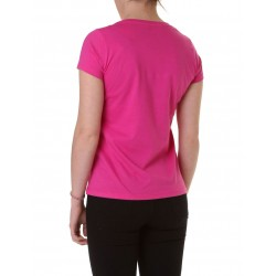 BRUSH TEE FUXIA