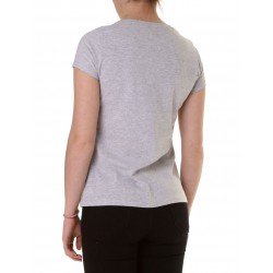 BRUSH TEE GRIS MELANGE