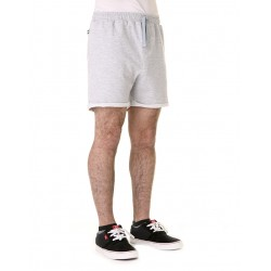 SWEAT SHORT GRIS MELANGE