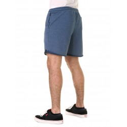 SWEAT SHORT AZUL MELANGE